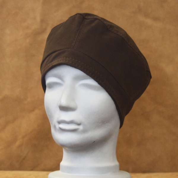 London, Rindnubukleder braun