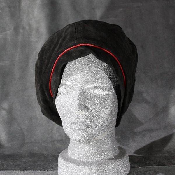 Maler schwarz / rot