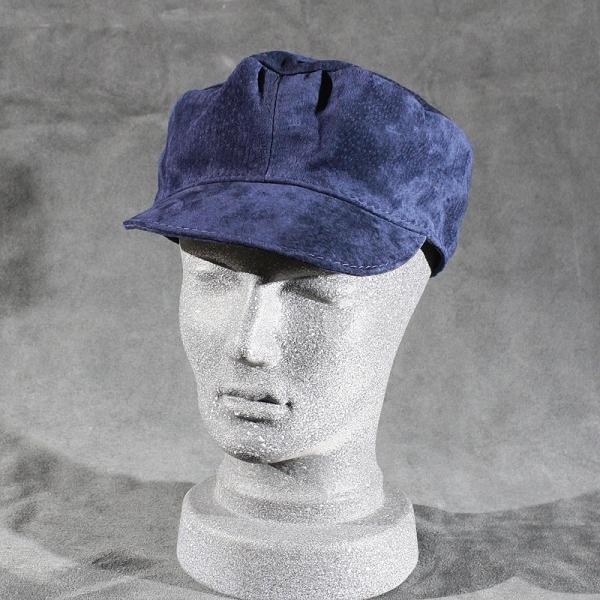 Treckerfahrer blau