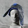 Blauer Hut, 60