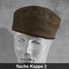 flache Kappe