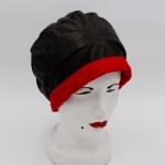 Koch Nappa leather black/red (Winterversion)